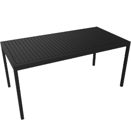 Eos Rectangular Table - Black