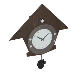 Cuckoo Pendulum Wall Clock - 39x4x45 cms