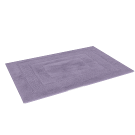 Aristocrat Plush Bathmat - 60x90 cms, Purple