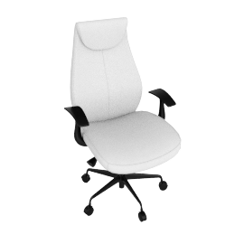 Function H/B Chair-White/Blk