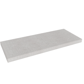 Betrib/Downlow Shelf, White