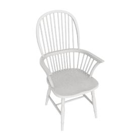 Marple Carver Dining Chair, Cream