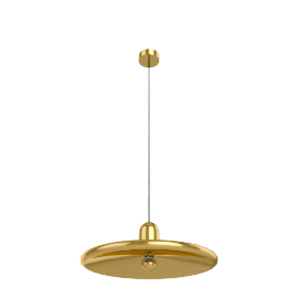 Tom Dixon Spun Pendant Light, brass
