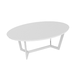 Havana Coffee Table, White