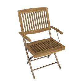 Fiji Folding Garden Armchair