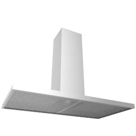 Elica Concept Cube 90 Chimney Cooker Hood, Stainless Steel