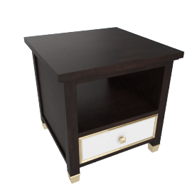 Adelina 1-Drawer End Table