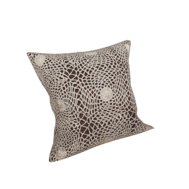 Celine Cushion Cover - 45x45 cms, Brown