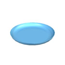 Mud Salad Plate - Turquoise