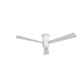 Cirrus Hugger Ceiling Fan with Halogen Light