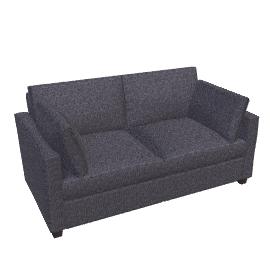 Ravel Small Sofa Bed, Grey