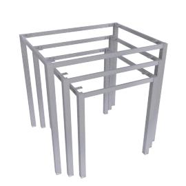 Blend Nest of Table Frame, Brushed