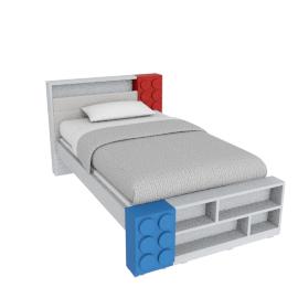 Blocks Bed - 120x200