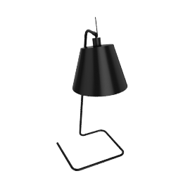 Jam Table Lamp, Black