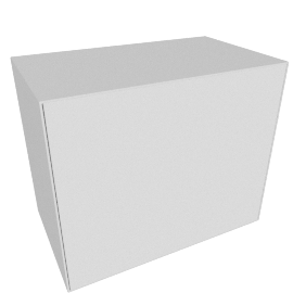 Forma Large Box with Door, Light Grey