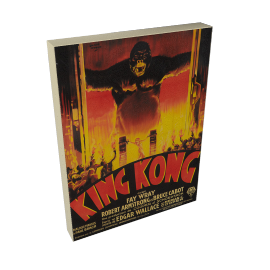 John Lewis King Kong Movie Poster Print on Canvas, 40 x 30cm
