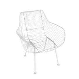 Sculptura Occasional Chair, White