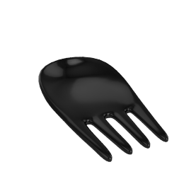 Nigella Lawson Melamine Serving Hands, Black