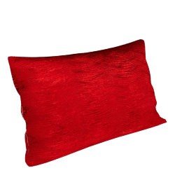 Harlequin Arkona Velvet Cushion, Cranberry