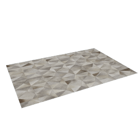 Diamond Cowhide Rug 6x9