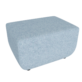 Softbench Wide, Light Blue