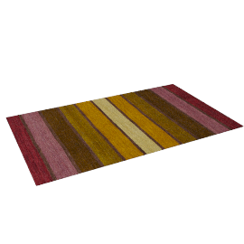 Dhalia Stripe Rug, 150x90, Purple