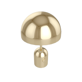 Tom Dixon Bell table lamp, messing