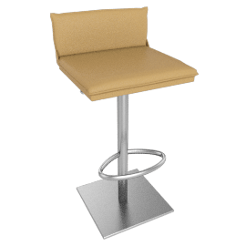 Bottega Piston Stool, Buff