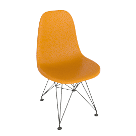 Eames® Molded Plastic Side Chair - DSR