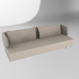 Bay Sleeper Sofa - Mushroom