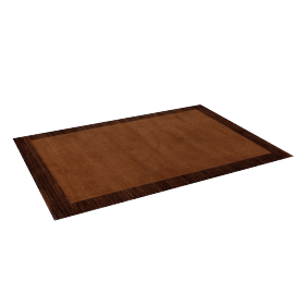 Henley Rug - 160x230 cms, Brown