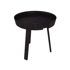 Around Table, Small - Black