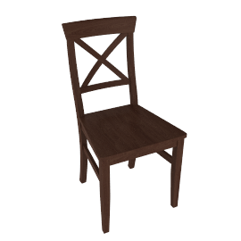 Pemberley Cross-Back Dining Chair