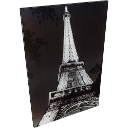 Eiffel Structure Picture Frame - 24x35x1 inches