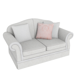 Brinkley 2 Seater Beige