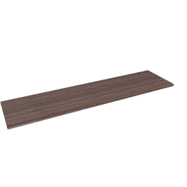 Textured Wall Shelf, Brown