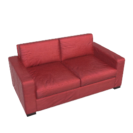 Portola Sofa - 66in. - Grade F Leather