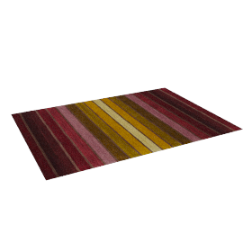 Dhalia Stripe Rug, 240x170, Purple