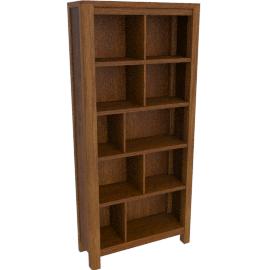 Seymour Tall Bookcase, Dark Stain