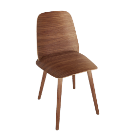 Nerd Chair , Walnut