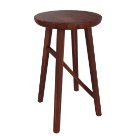 Why Wood Bar Stool, Walnut