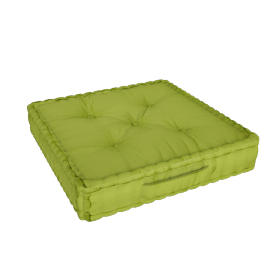 Floris Floor Cushion - 60x60 cms, Green
