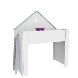 Larissa Dollhouse Bunk Bed - 90x200 cms