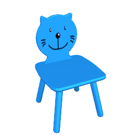 Child's Cat Chair