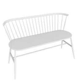Originals Loveseat Colour Finish, White