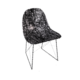Carbon Chair 75x46x50