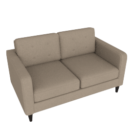 Lenon 2-Seater Sofa, Brown