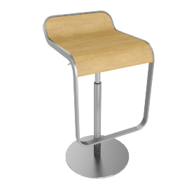 Lem Bar Stool, Oak