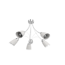 Mizar Ceiling Light, 5 Arm