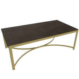 Palampore Rectangular Coffee Table with Lane Effect